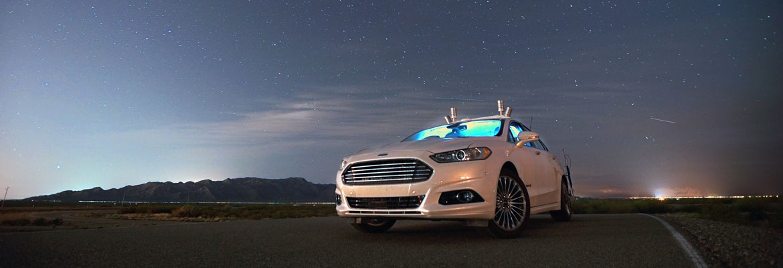 Ford Fusion Hybrid e Uber: la macchina del futuro è ora