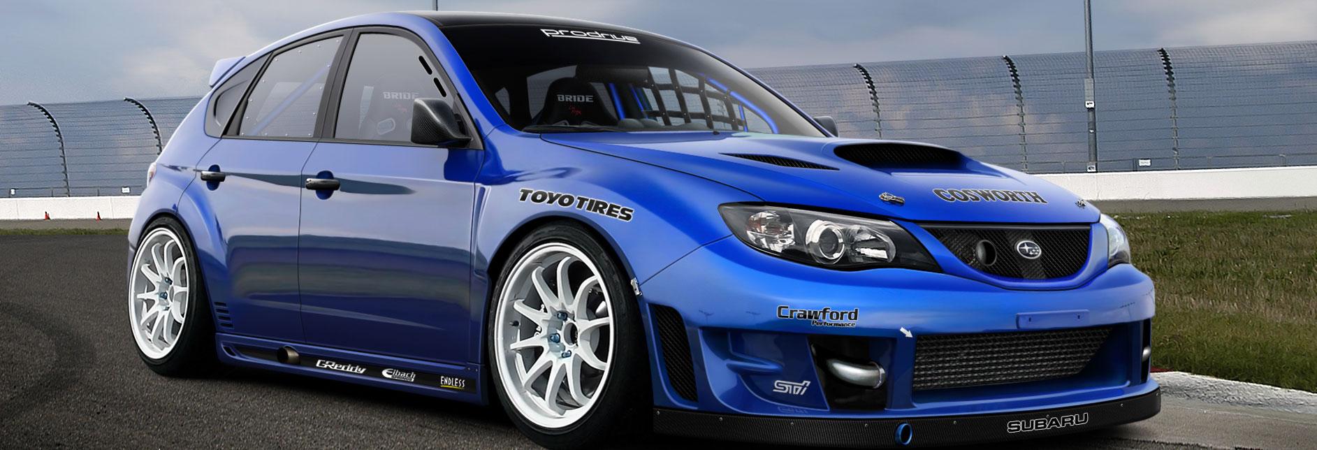 Nuova Subaru WRX TSI, il record è servito